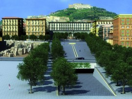 Rendering piazza municipio