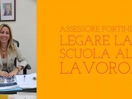L'intervista a Lucia Fortini, Assessore all'Istruzione