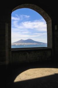 Vista da Castel dell'Ovo