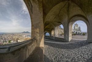 panoramica da Castel S.Elmo