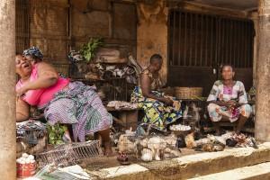 Benin - Bohicon, the central market